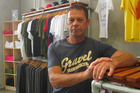 Business owner Dave Best is locked in a legal battle over T-shirts printed for Phil's Place Ltd. Photo / Amy McGrillivray