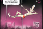 David Shearer finally climbs in the polls. Image / Rod Emmerson