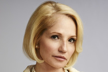 Pro gay marriage, Ellen Barkin has had to channel the opposite, more conservative views for her character in  The New Normal . Photo / NBC 