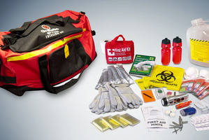 Grab & Go Survival Kit. Photo / Supplied