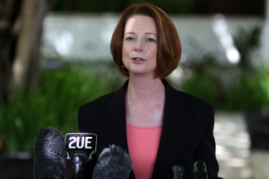 Julia Gillard. Photo / AP