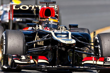 Lotus driver Kimi Raikkonen of Finland. Photo / AP