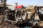 Baghdad is still vulnerable to insurgent attacks, 10 years after the US-led invasion of Iraq. Photo / AP