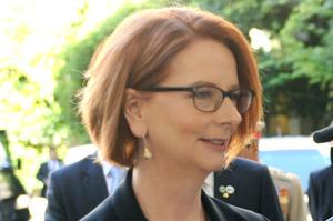 Gillard's efforts to halt the rush to calamity have so far been fruitless. Photo / AP