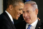 President Barack Obama and Prime Minister Benjamin Netanyahu presented a united front. Photo / AP