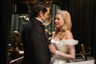James Franco and Michelle Williams in a scene from <i>'Oz the Great and Powerful'</i>. Photo / AP