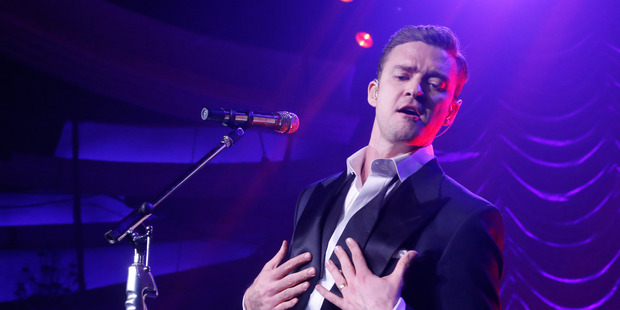 Justin Timberlake's first release in more than six years reflects his happy domestic state and maturity. Photo / Supplied