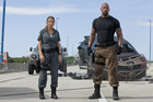 Wrestler turned actor, Dwayne 'The Rock' Johnson, in 'Furious 5'. Photo / Supplied