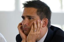 Labour Minister Simon Bridges. Photo / Sarah Ivey 