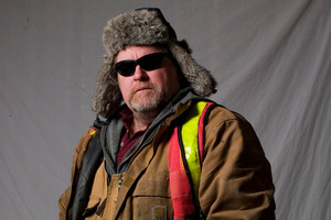 The hulking men from  Ice Road Truckers  have blazed the telly trail. Photo / Supplied