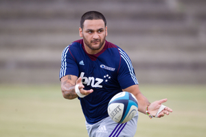 "Piri Weepu has maintained his fitness to ""keep up with those young fellas in the Blues"". Picture / Richard Robinson"