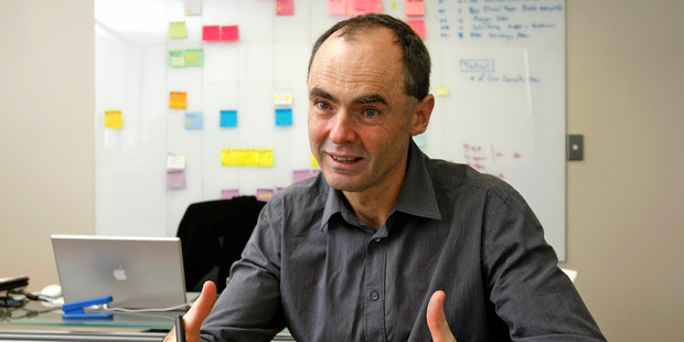 Orion Health founder Ian McCrae, pictured in his Mt Eden office. Photo / Kenny Rodger