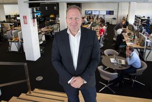 Rod Drury, founder and chief executive of internet-based accounting software company Xero. Photo / Mark MItchell