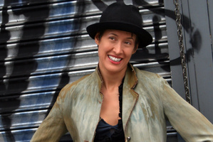 US singer-songwriter Michelle Shocked. Photo / Supplied
