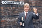 Actor William Roach (Ken Barlow) has been with the 'Coronation Street' series since the very first episode. Photo / Supplied
