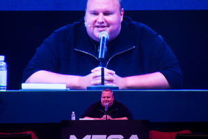 Kim Dotcom. Photo / Richard Robinson