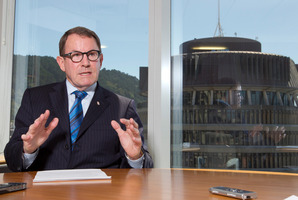 Act Party leader John Banks in his office at Parliament, Wellington. 20 February 2013 New Zealand Herald Photograph by Mark MItchell