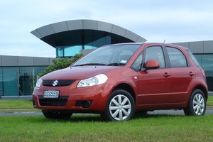 Suzuki SX4. Photo / Supplied