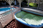 Spa pools with lockable, child-proof covers could be exempt. Photo / Greg Bowker