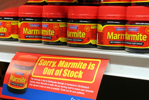 Marmite will be on shelves again from midnight. Photo / Glenn Taylor