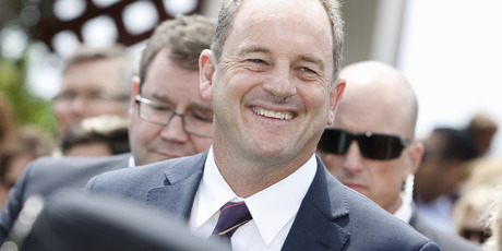 Labour leader David Shearer. Maybe his New York back account is a clever currency hedge? Photo / Michael Cunningham