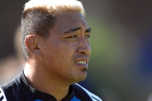 Jerry Collins in 2008. File photo / NZ Herald