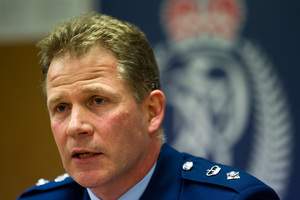 Mr Searle said frontline staff would continue to be deployed from the policing centre. Photo / NZPA