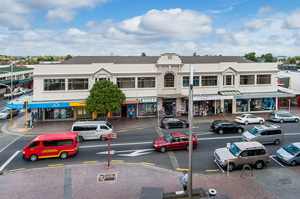 The Papakura building at 143 Great South Rd has six retail tenants.