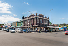 Four adjoining character commercial buildings for sale at 224-234 Dominion Rd and 17 Valley Rd.