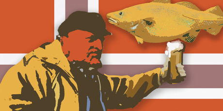 The World Cod Fishing Champs are part of the Lofoten Islands' annual Cod Festival when the 25,000 inhabitants get together to toast cod in a 'Day of Booze' (traditionally in March). Photo / Rod Emmerson