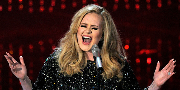 Adele. Photo/AP