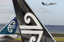 The Air New Zealand. Photo / Bloomberg