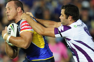 Cameron Smith had 51 points in the Storm's win over the Cowboys. Photo / Getty Images