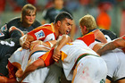 The Chiefs jumped back into top spot with a strong win over the Kings. Photo / Getty Images