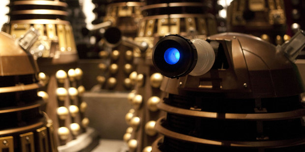 Peter Jackson would direct a Dr Who episode for the price of a gold Dalek. Photo/supplied