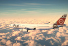 An artist's impression of Air Pacific's new Airbus A330, branded as 'Fiji Airways'. Picture / Supplied