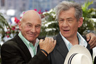 Patrick Stewart and Ian McKellen. Photo/AP