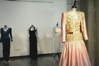 A selection of ten dresses that were previously owned by Britain's Princess Diana are displayed at the Kerry Taylor auction house in central London ahead of their auction on March 19. With estimated reserves ranging from £20,000 up to £300,000, the star of the sale is set to be a Victor Edelstein evening gown that the Princess wore to dance with John Travolta at a White House State dinner in 1985.