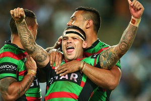 South Sydney's two point win over the Sharks would have made one punter very happy. Photo / Getty Images