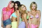 Selena Gomez, second from left, stars in Spring Breakers.