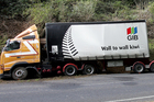 A Te Kauwhata Transport truck. The Gib building products firm is one of its big customers. File photo