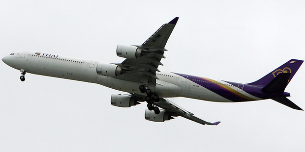 A Thai Airlines jet. Photo/file