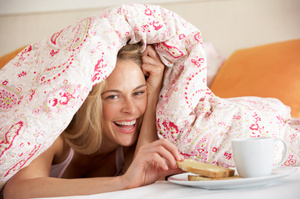 When you live alone you can do anything, guilt free.Photo / Thinkstock