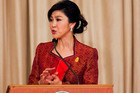 Thai Prime Minister Yingluck Shinawatra. Photo / Getty Images