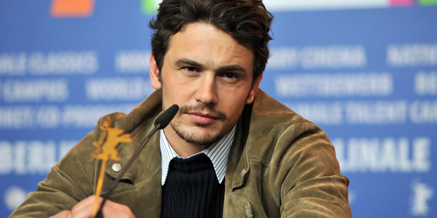 James Franco's neighbours are angry about rubbish left outside the actors house. Photo / Getty Images