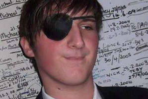 Jared McGiven lost an eye after his optometrist failed to diagnose a detached retina. Photo / Supplied