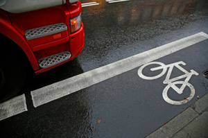 Redesigning the standard truck could make it safer for road cyclists. Photo / Thinkstock