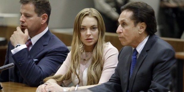 Michael Lohan blames himself for Lindsay's problems. Photo / AFP