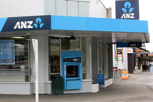ANZ ATM machines have been targeted by fraudsters. Photo / File photo