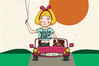 The Singaporean Fairytale version of Alice in Wonderland. Illustration / The Singaporean Fairytale